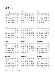 Calendar 2011 Printable Free Printable Calendars And Planners 2018 2019 2020