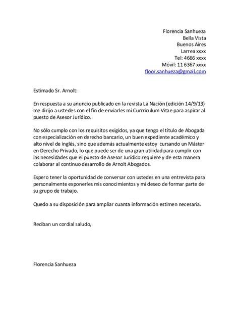 carta formal de presentacion carta de presentacion