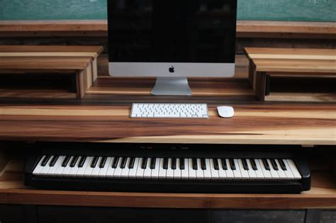 Studio Desk For Audio Video Music Film Production Audio Studio Desk