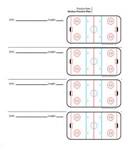 Practice Schedule Template by Doc 585660 Hockey Templates Free Practice Schedule