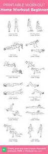 home workout for beginner my custom printable workout by