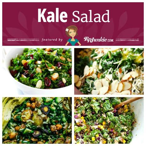 Kale Detox Salad With Pesto by 17 Easy And Healthy Kale Recipes Tip Junkie