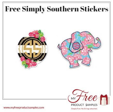 Simply Southern Free Stickers