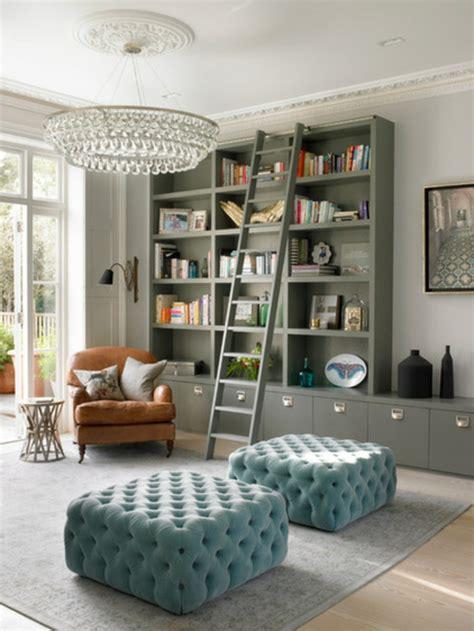 bibliothek einrichten wohnideen f 252 r zimmergestaltung erfrischen sie ihr zuhause