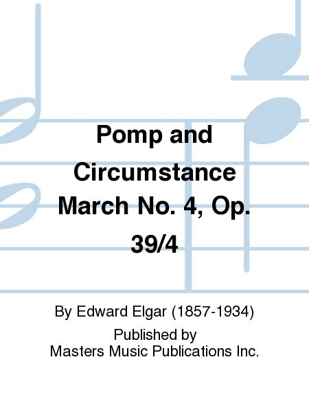 March 1 4 End 1 pomp and circumstance pdf free sheet
