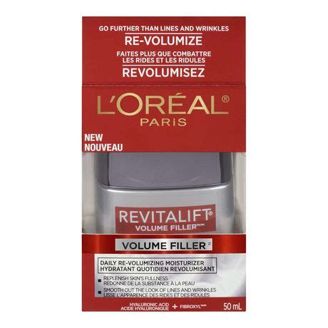 buy l oreal revitalift volume filler daily volumizing concentrated serum at well ca free l or 233 al revitalift volume filler daily re volumizing moisturizer walmart canada