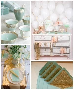 ruby wedding inspiration mint green teal and gold wedding mint wedding