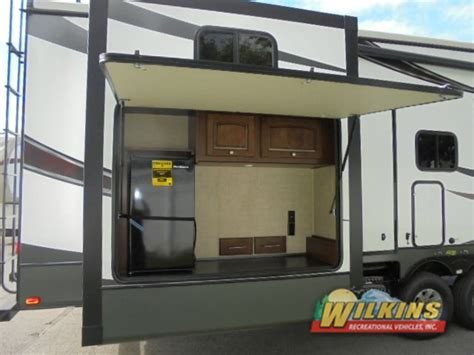 premade outdoor kitchen ppi fifth wheel rv with bunkhouse and outdoor kitchen ppi