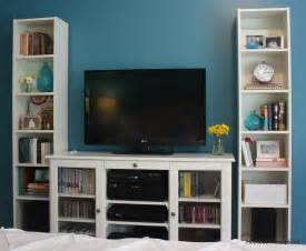 Corner Billy Bookcase Tv Cabinet And Bookshelves Hooked On Houses