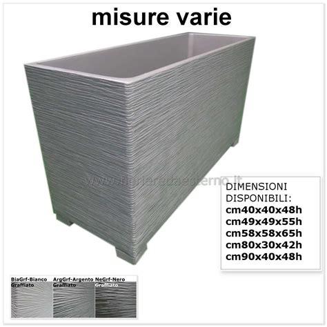 vasi cemento fioriere in cemento 540pamod fioriere da esterno vasi