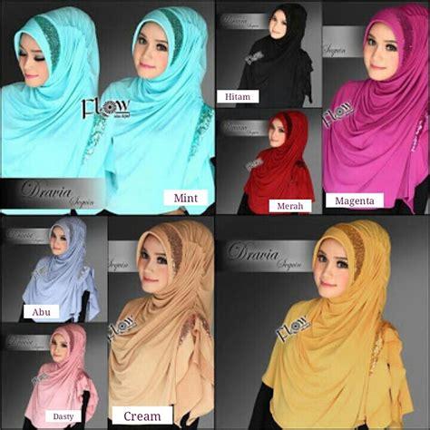Hijabjilbab Velvet Sequin Syria Murah jual harga jilbab syria dravia sequin murah
