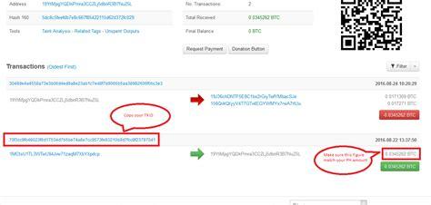 bitcoin transaction tutorial txid transaction identifier bitcoin glossary
