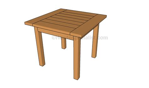 Snack Tables by Snack Table Plans Wood Plans
