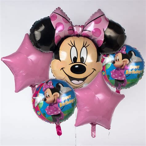 Balon Foil Pentungan Mickey Minnie oiio card shop