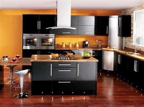 Black Kitchen Cabinets What Color On Wall 25 Black Kitchen Design Ideas Creating Balanced Interior Decorating Color Schemes