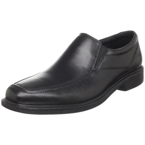 bostonian s mendon dress slip on black leather 9 5 m