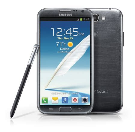 samsung galaxy note 2 coming to at t november 9 for 299