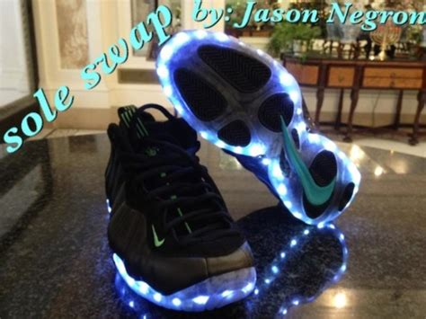 Et6nation Epicteam6 Light Up Nike Air Foosite Custom