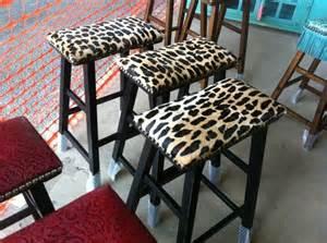 Leopard Bar Stools Cheetah Print Bar Stools House Must Haves