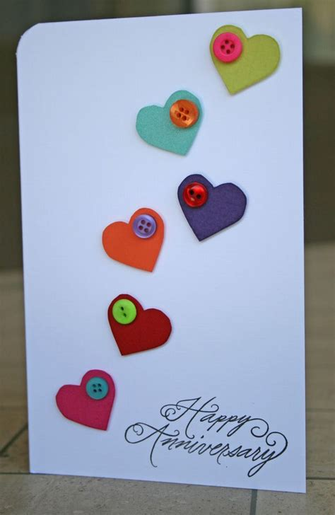 button cards make your own best 25 wedding anniversary cards ideas on