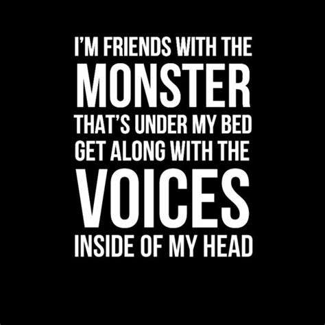 monsters under my bed lyrics voices inside of my head quot eminem the monster lyrics
