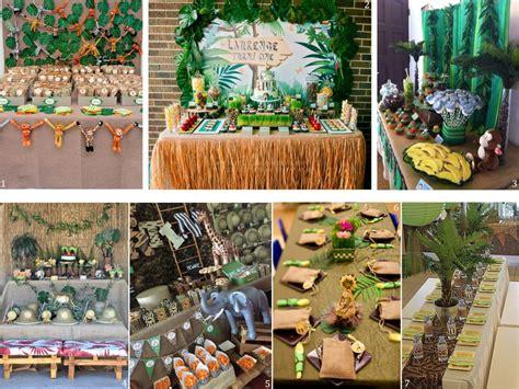como decorar un salon de selva decoraci 243 n safari ideas para fiestas infantiles tem 225 ticas