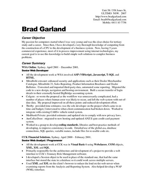 resume objective examples for any job berathen com