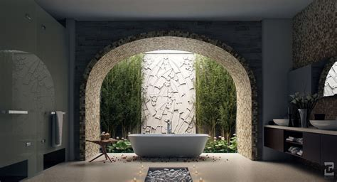 how to get into interior decorating sunlight streams into bathrooms connected to nature