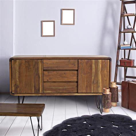 credenze vintage nairobi cabinet credenza vintage in legno e metallo