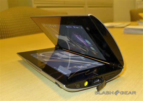 Hp Sony Tablet P sony tablet p on slashgear