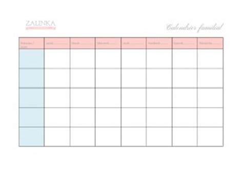S Planner Calendrier Par Défaut Semainier Familial Zalinka Pour Organiser Et D 233 Corer La
