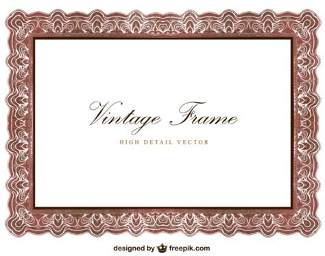 frame design software free download vintage frame design vector free download