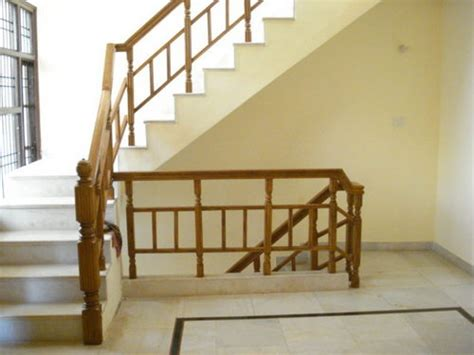 Railings And Banisters Wooden Stair Railings In Indl Area Ph 2 Panchkula