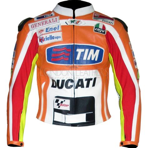 motogp jacket rossi motogp replica team ducati biker jacket