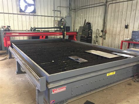 Custom Table Top Hi Def 260 Amp Cnc Plasma Table Traughber Mechanical