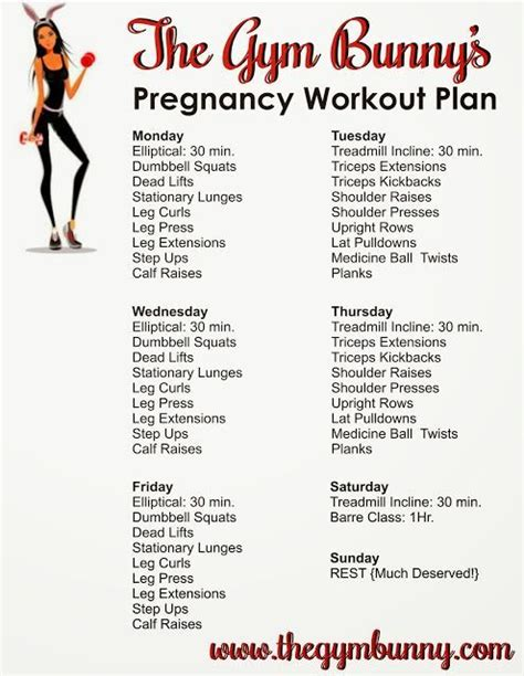 best 25 pregnancy workout plans ideas on fit