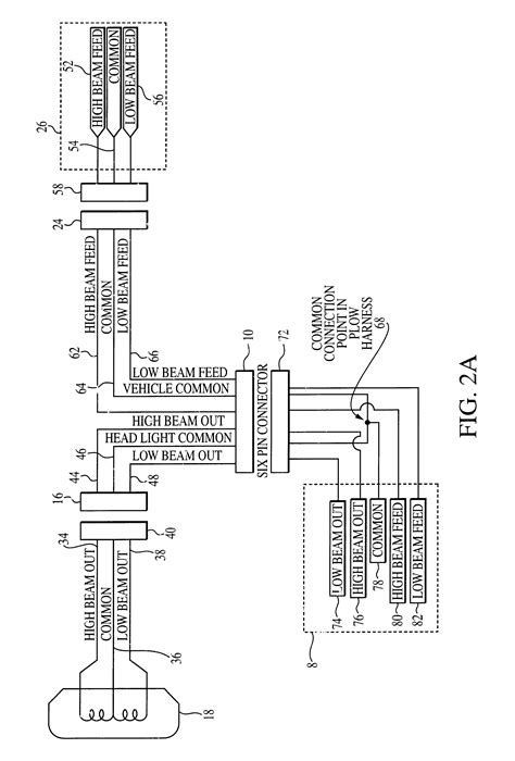 peterson plow light wiring diagram plow light wiring