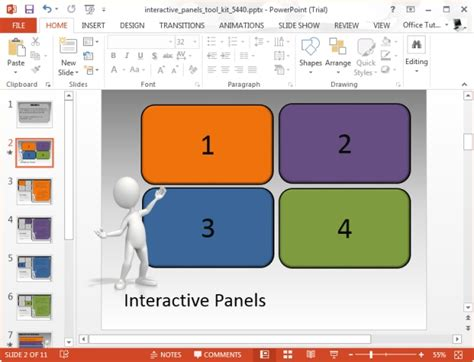 interactive ppt template connect with your audience with interactive powerpoint