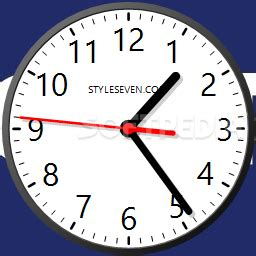 desktop clock plus 7