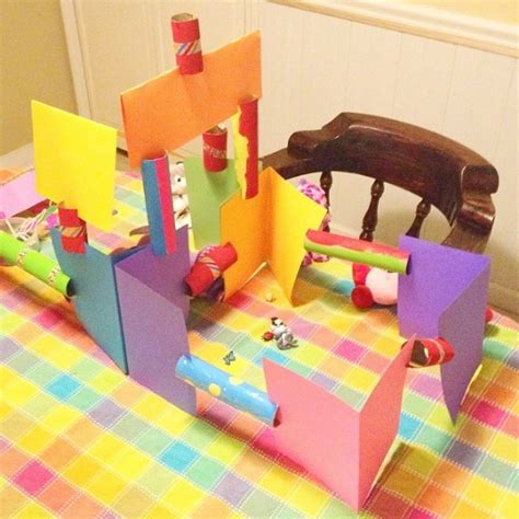Construction Paper Crafts For Home - simple craft for cardboard construction set