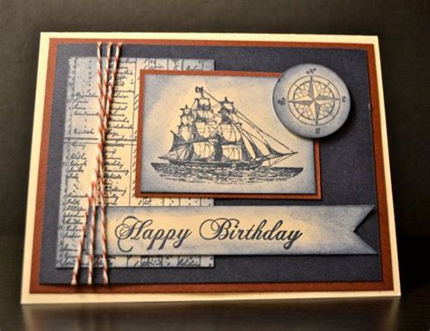 Mens Handmade Cards - 25 best ideas about mens birthday cards on