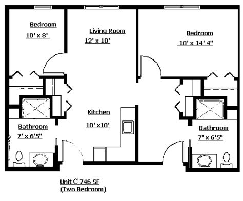 2 bedroom apartment layouts 2 bedroom apartment layout grace lodge assisited living