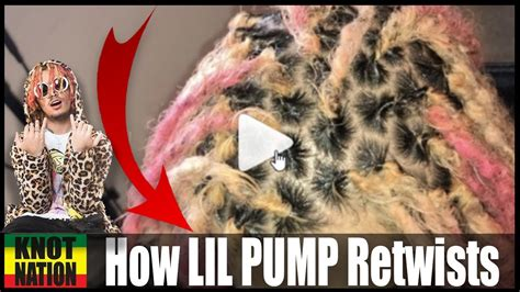 lil pump dreads how to get dreadlocks like lil pump youtube