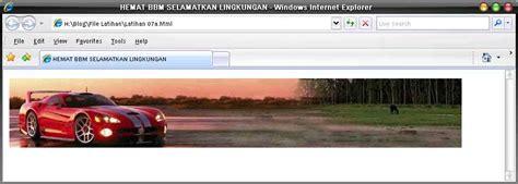 membuat header website html membuat website itu mudah bagian vii gambar teks