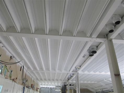 spray painting ceiling spray paint galvanised ceiling voids msc005 ceilcote