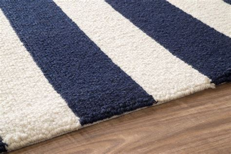 Blue And White Striped Area Rug Navy Blue And White Striped Area Rug Best Decor Things