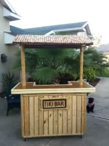 Pallet tiki bar backyard tiki bar pinterest