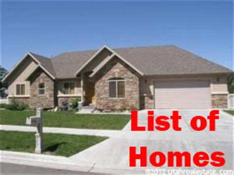 list of homes for sale in mapleton utah