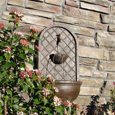 fontane da giardino a parete fontane da giardino fontane modelli e consigli per
