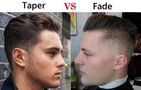 difference between a taper cut and a undercut hairstyle taper vs fade haircut choose the best hairstyle for you